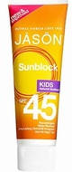 Jason Kid's Sunblock SPF45 113g