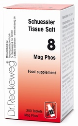 Schuessler Mag Phos No. 8 - 200 tablets - BULK OFFER!
