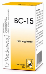 Dr Reckeweg BC-15 200 Tablets - BULK OFFER!