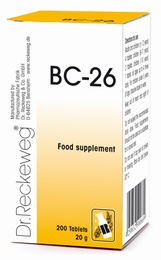 Dr Reckeweg BC-26 200 Tablets - BULK OFFER!