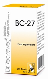 Dr Reckeweg BC-27 200 Tablets - BULK OFFER!