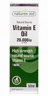 Natures Aid Vitamin E Oil 20,000iu 50 ml