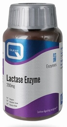 Quest Lactase Enzyme 200 mg 90 Tablets