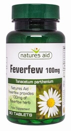 MigraEeze Feverfew 100mg 90 Tablets (Licensed)