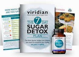 Viridian 7 Day Sugar Detox Plan 14 Capsules
