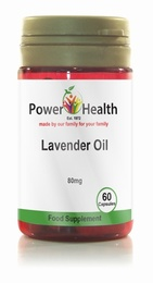 Power Health Lavender Oil 80mg 60 Capsules