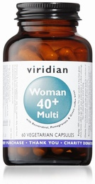 Viridian Women 40+ Multivitamin 60 Vegetable Capsules