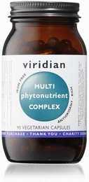 Viridian MultiPhytoNutrient 90 Vegetable Capsules)