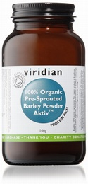 Viridian Barley Powder Pre-sprouted Aktivated Organic 100g