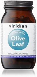 Viridian Olive Leaf Extract 90 Vegetable Capsules