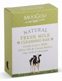 Fresh Goat's Milk Cleansing Bar 130g