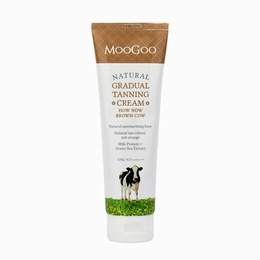 MooGoo How Now Brown Cow Gradual Tanning Cream 120g