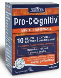 Natures Aid Pro-Cognitiv 60 Vegetable Capsules