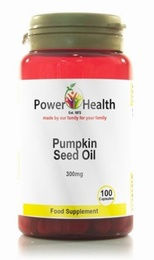 Power Health Pumpkin Seed Oil 300mg 100 Capsules