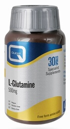 Quest L-Glutamine 500 mg 30 Capsules