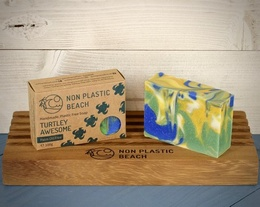 Non Plastic beach- HANDMADE SOAP - TURTLEY AWESOME