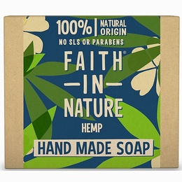 Faith in nature | handmade hemp soap