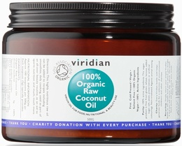 Viridian Organic Raw Coconut Oil - 500g