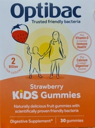 Optibac Strawberry KIDS Gummies