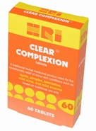 HRI Clear Complexion tablets 60 Tablets