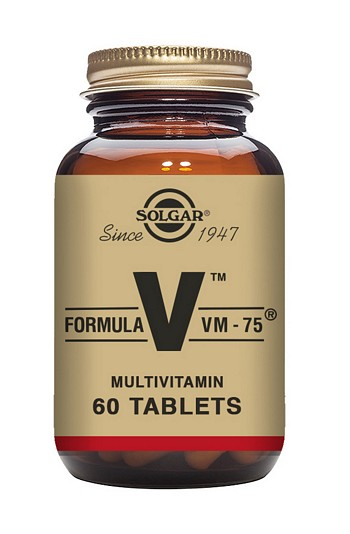 Solgar Formula VM-75 Multivitamin 60 Tablets